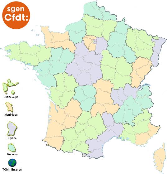 Les cartes d'Aquitaine